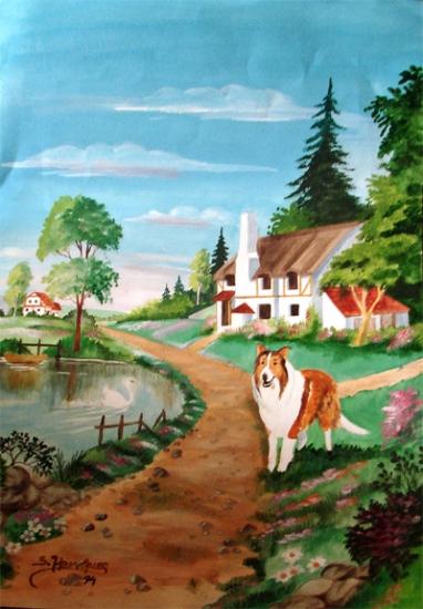 Lassie by wisewyn